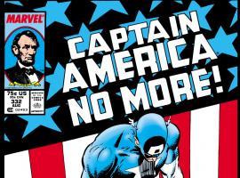 Captain America (1968) #332 Cover