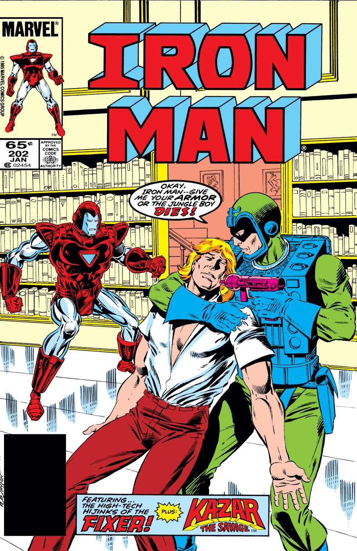 Iron Man (1968) #202