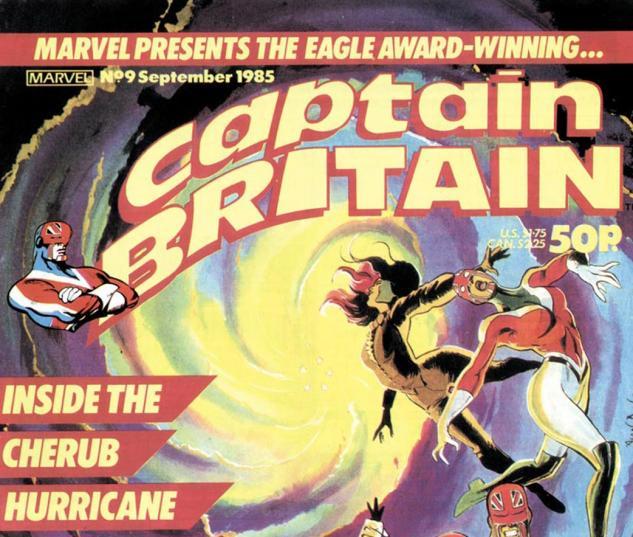 Captain Britain (1985) #9 Cover