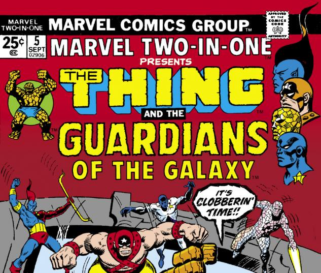 Marvel Two-in-One (1974) #5 Cover
