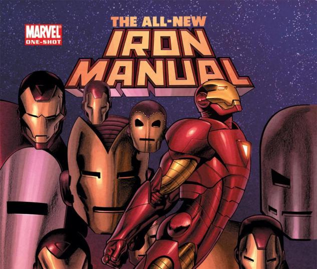 Iron Man Manual (2008) #1 Cover