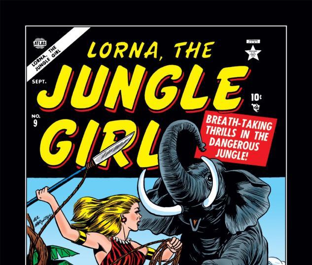 Lorna the Jungle Girl (0000) #9 Cover