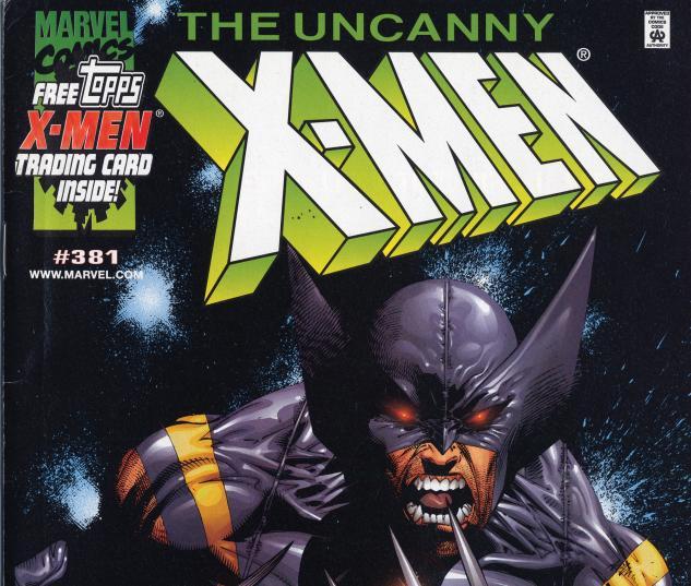 Uncanny X-Men (1963) #381 Dynamic Forces Variant Cover