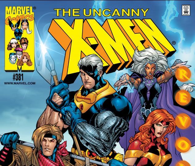 Uncanny X-Men (1963) #381 Variant B Cover