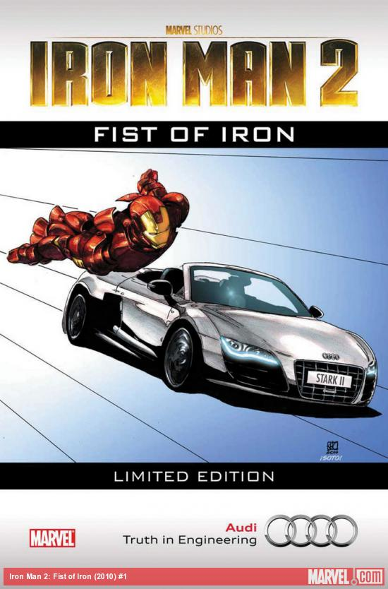 Iron Man 2: Fist of Iron (2010) #1