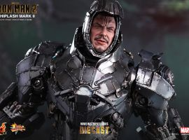 Iron Man 2: 1/6th scale Whiplash Mark II Collectible Figure from Hot Toys