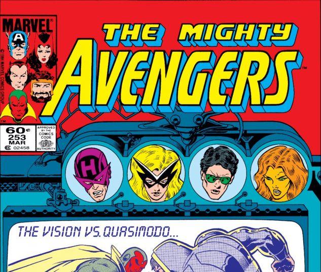 Avengers (1963) #253 Cover
