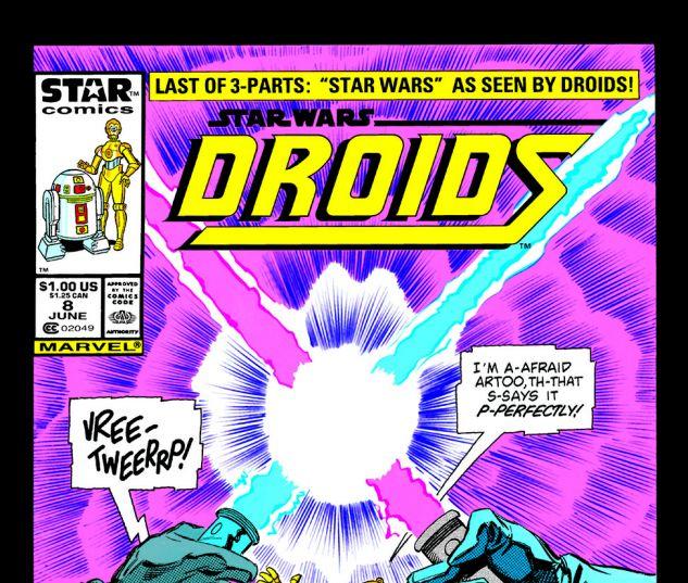 Star Wars: Droids (1986) #8