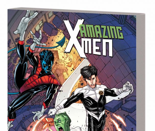 AMAZING X-MEN VOL. 3: ONCE AND FUTURE JUGGERNAUT TPB