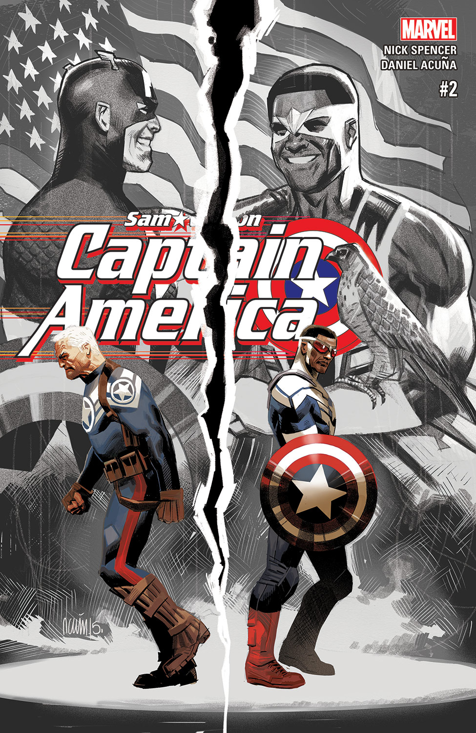 Captain America: Sam Wilson (2015) #2