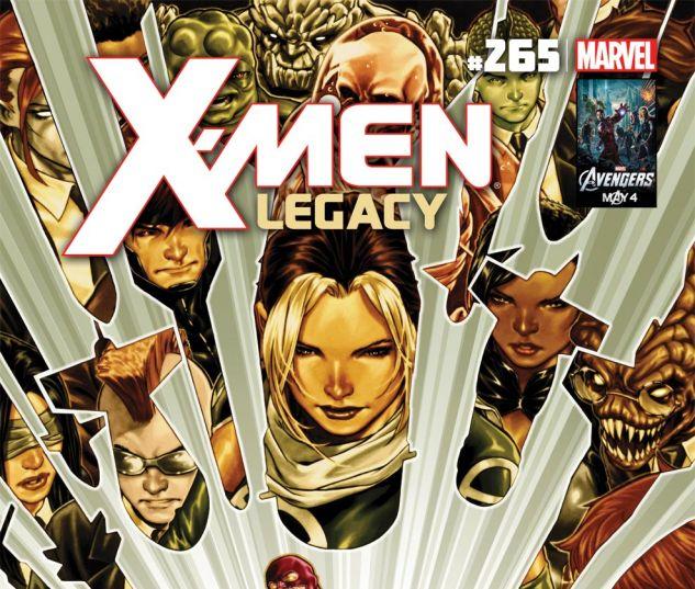 X-MEN LEGACY (2008) #265 Cover