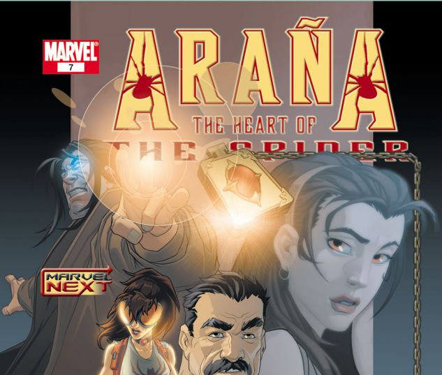 ARANA: THE HEART OF THE SPIDER (2005) #7 Cover