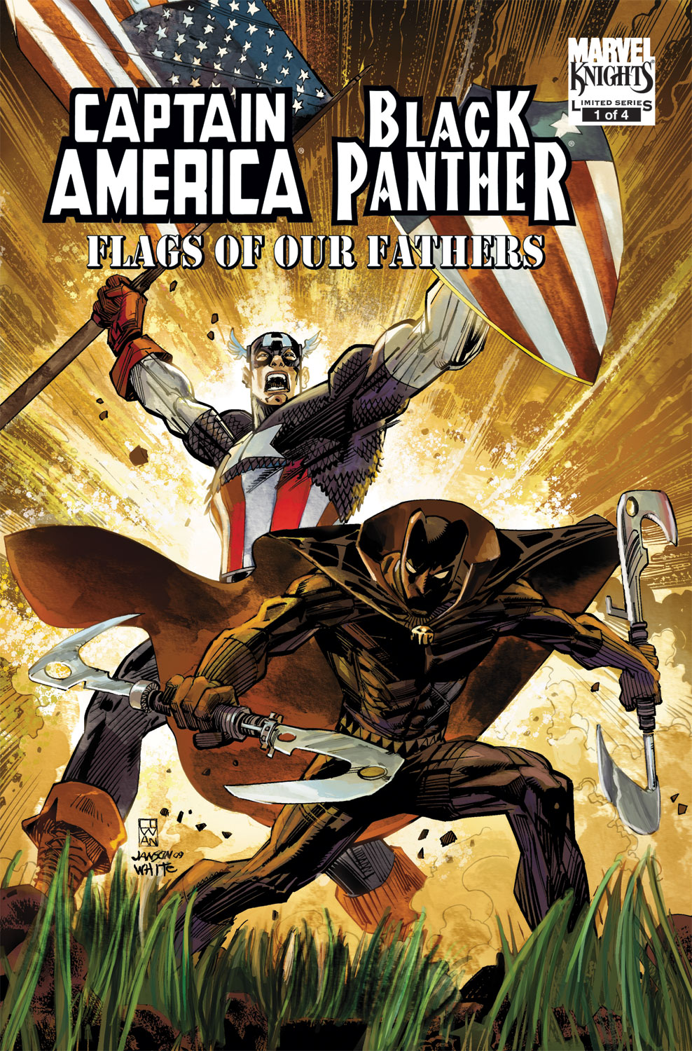Captain America/Black Panther: Flags of Our Fathers (2010) #1