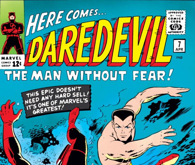 DAREDEVIL (1964) #7 Cover