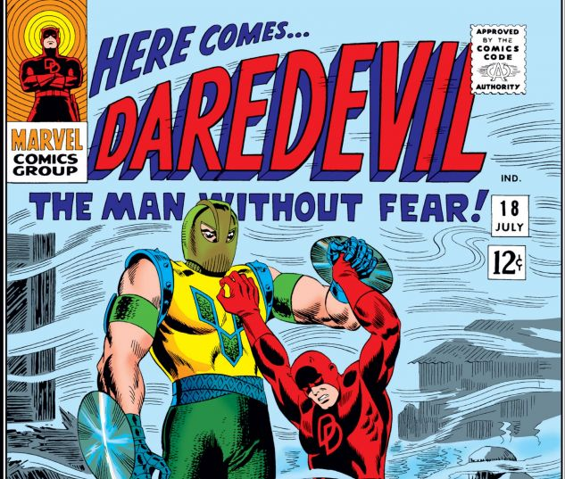 DAREDEVIL (1964) #18 Cover