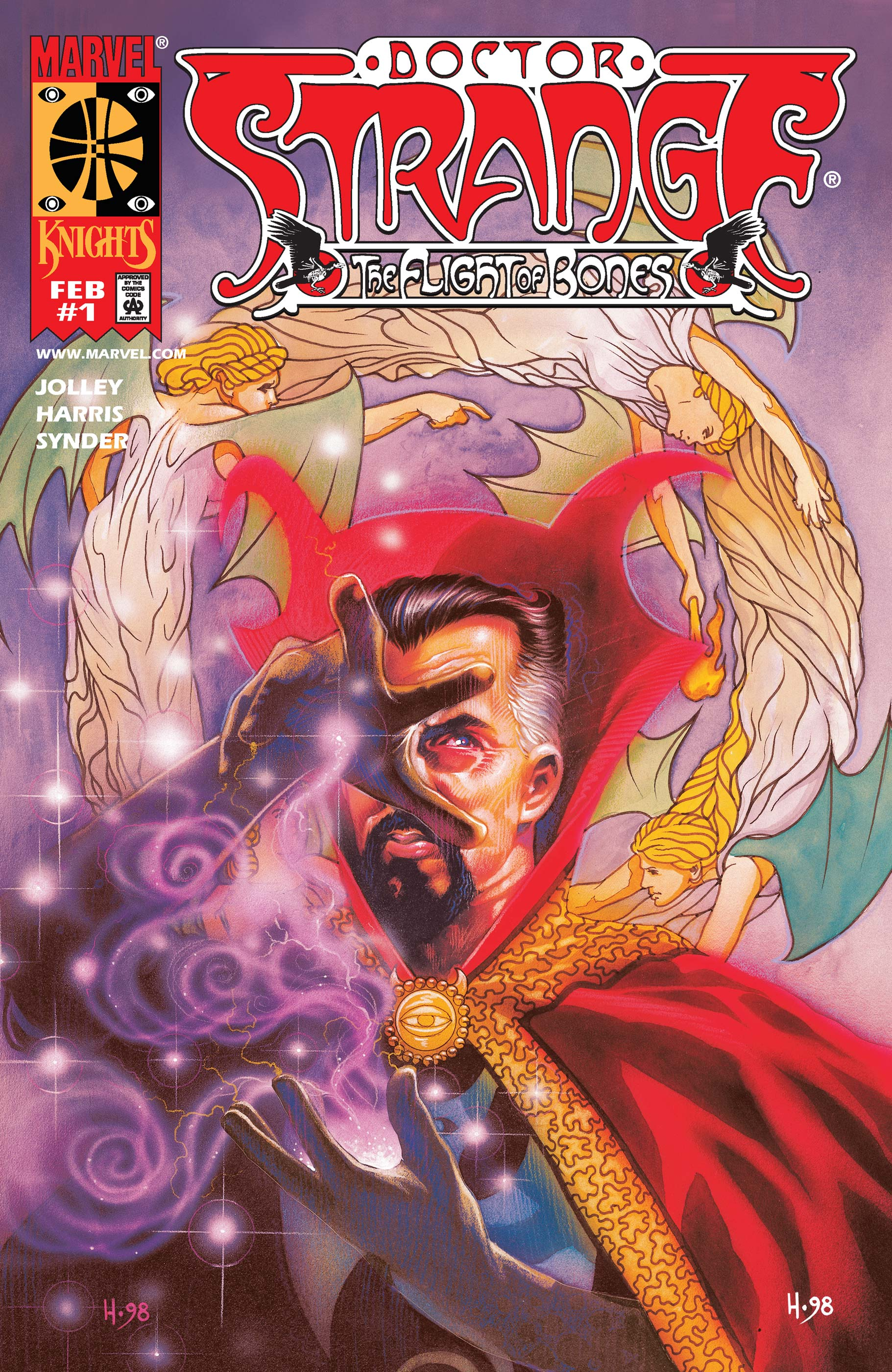 Doctor Strange: The Flight of Bones (1999) #1
