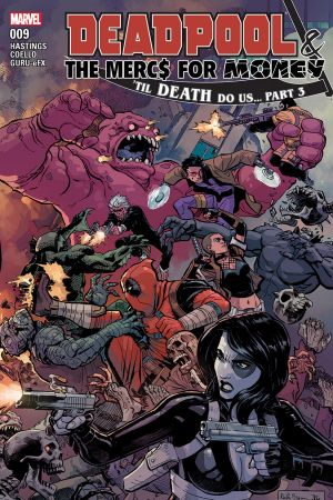 Deadpool & the Mercs for Money (2016) #9