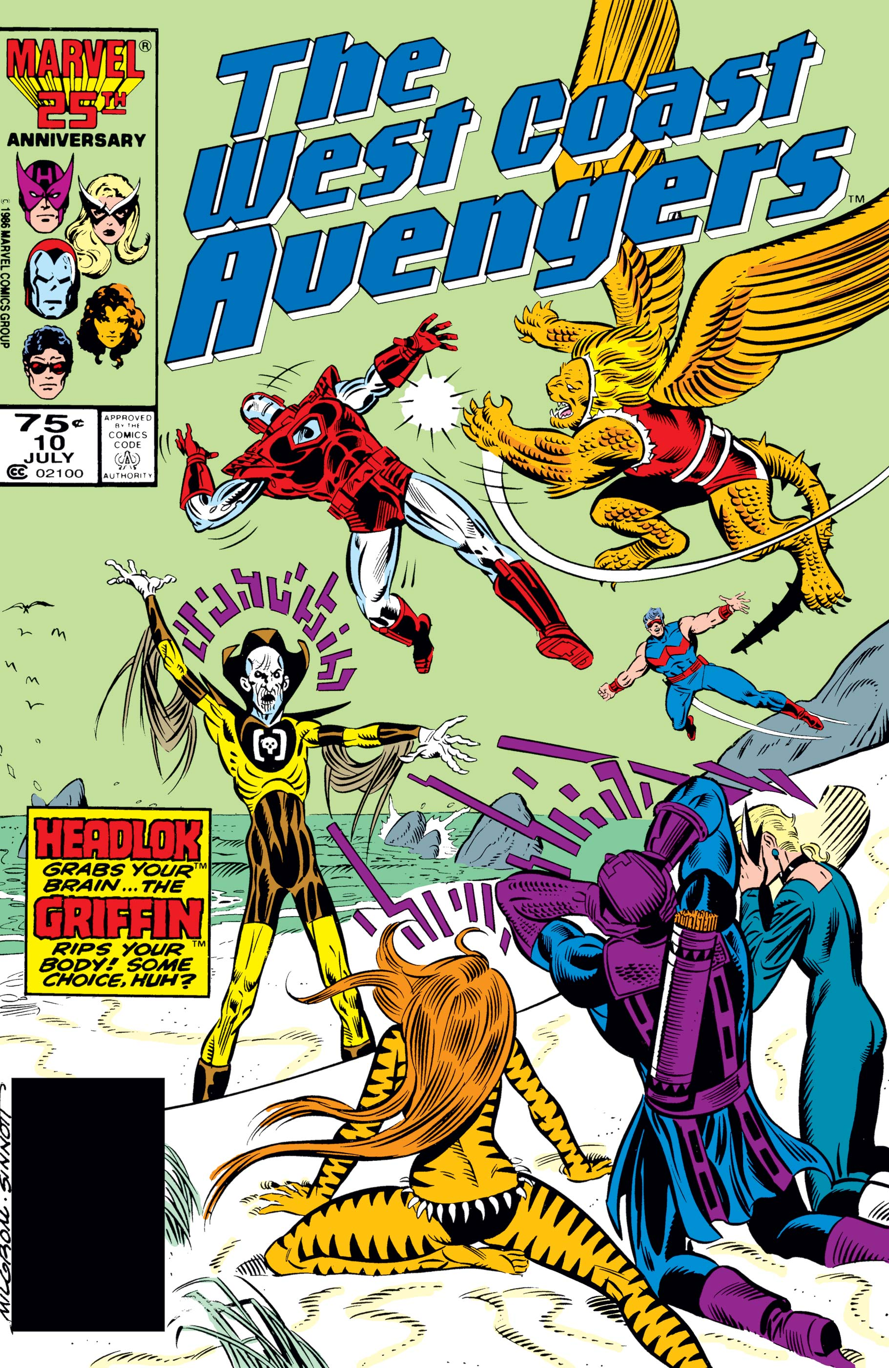 West Coast Avengers (1985) #10