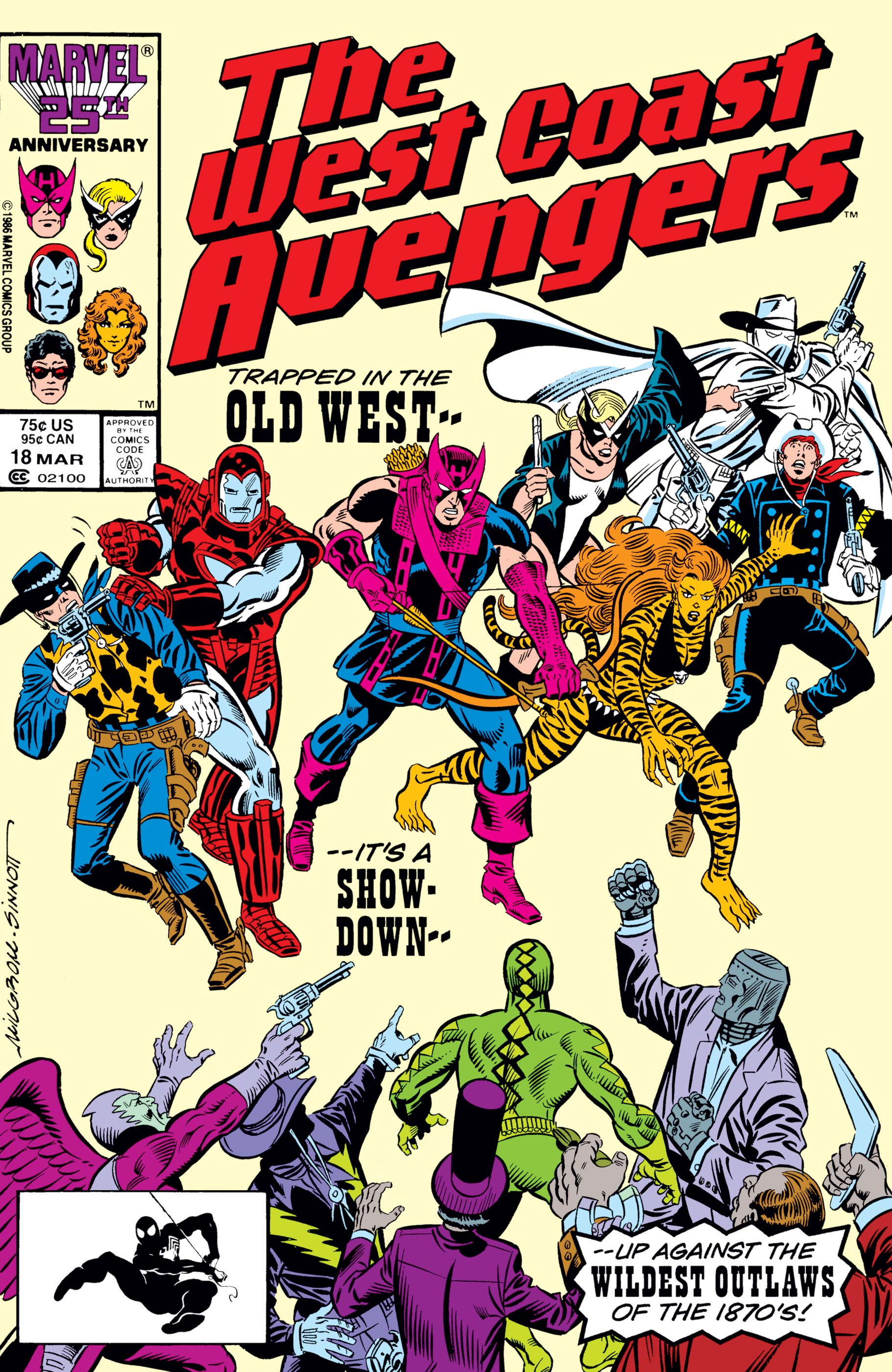 West Coast Avengers (1985) #18
