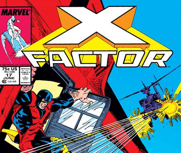 X-Factor (1986) #17