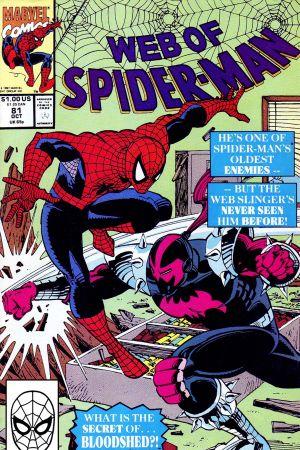Web of Spider-Man (1985) #81