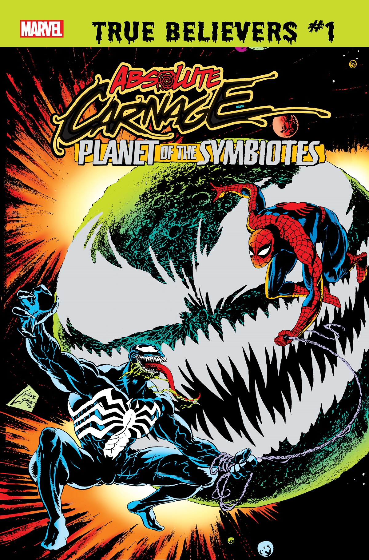 True Believers: Absolute Carnage - Planet Of The Symbiotes (2019) #1