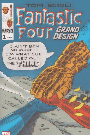 Fantastic Four: Grand Design (2019) #1