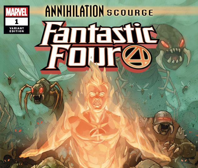 ANNIHILATION - SCOURGE: FANTASTIC FOUR 1 NOTO VARIANT #1