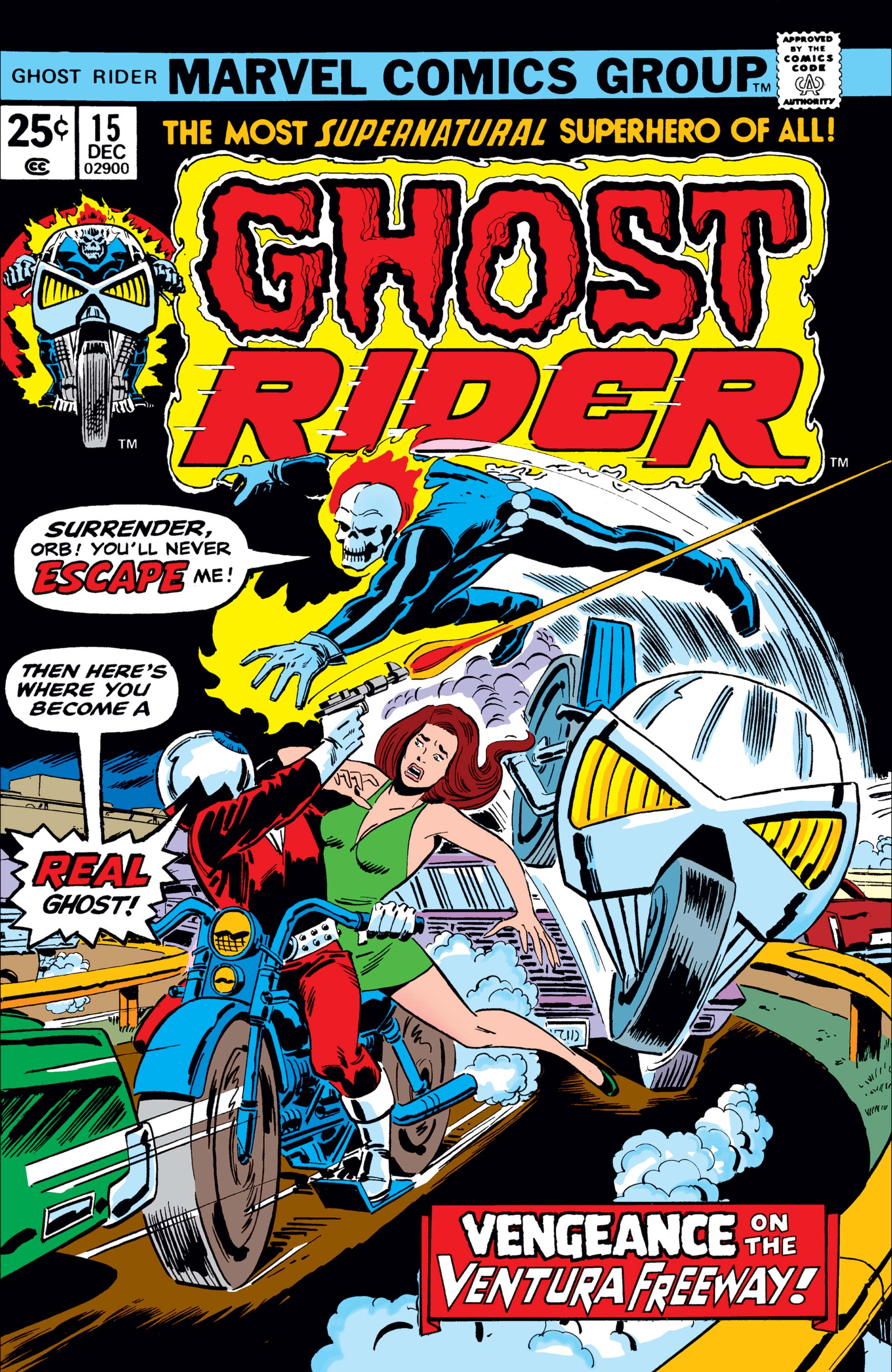 Ghost Rider (1973) #15