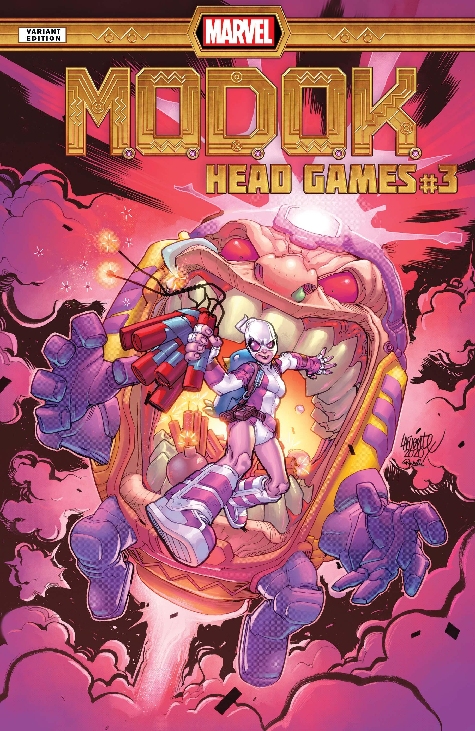 M.O.D.O.K.: Head Games (2020) #3 (Variant)