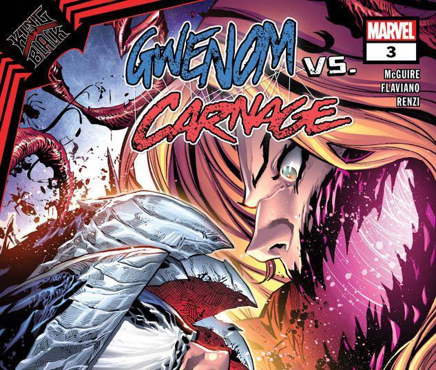 King in Black: Gwenom Vs. Carnage #3
