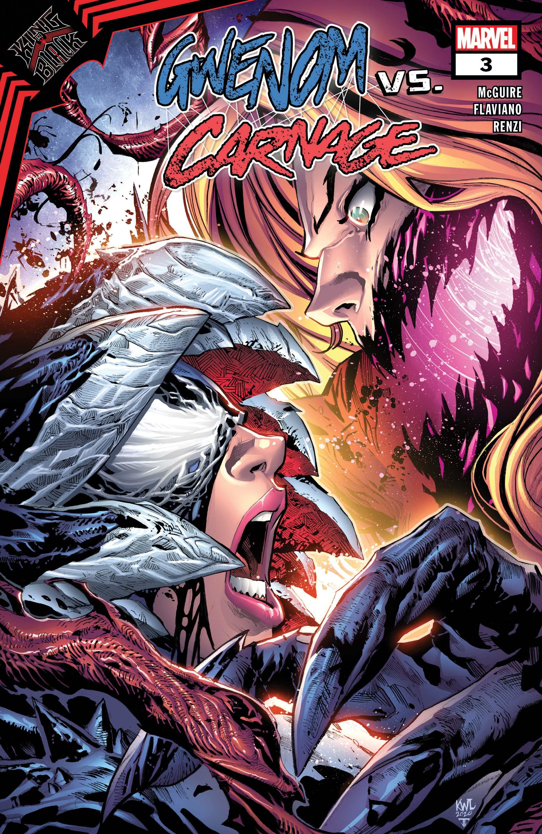 King in Black: Gwenom Vs. Carnage (2021) #3