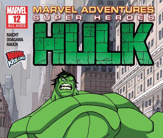 Marvel Adventures Super Heroes #12