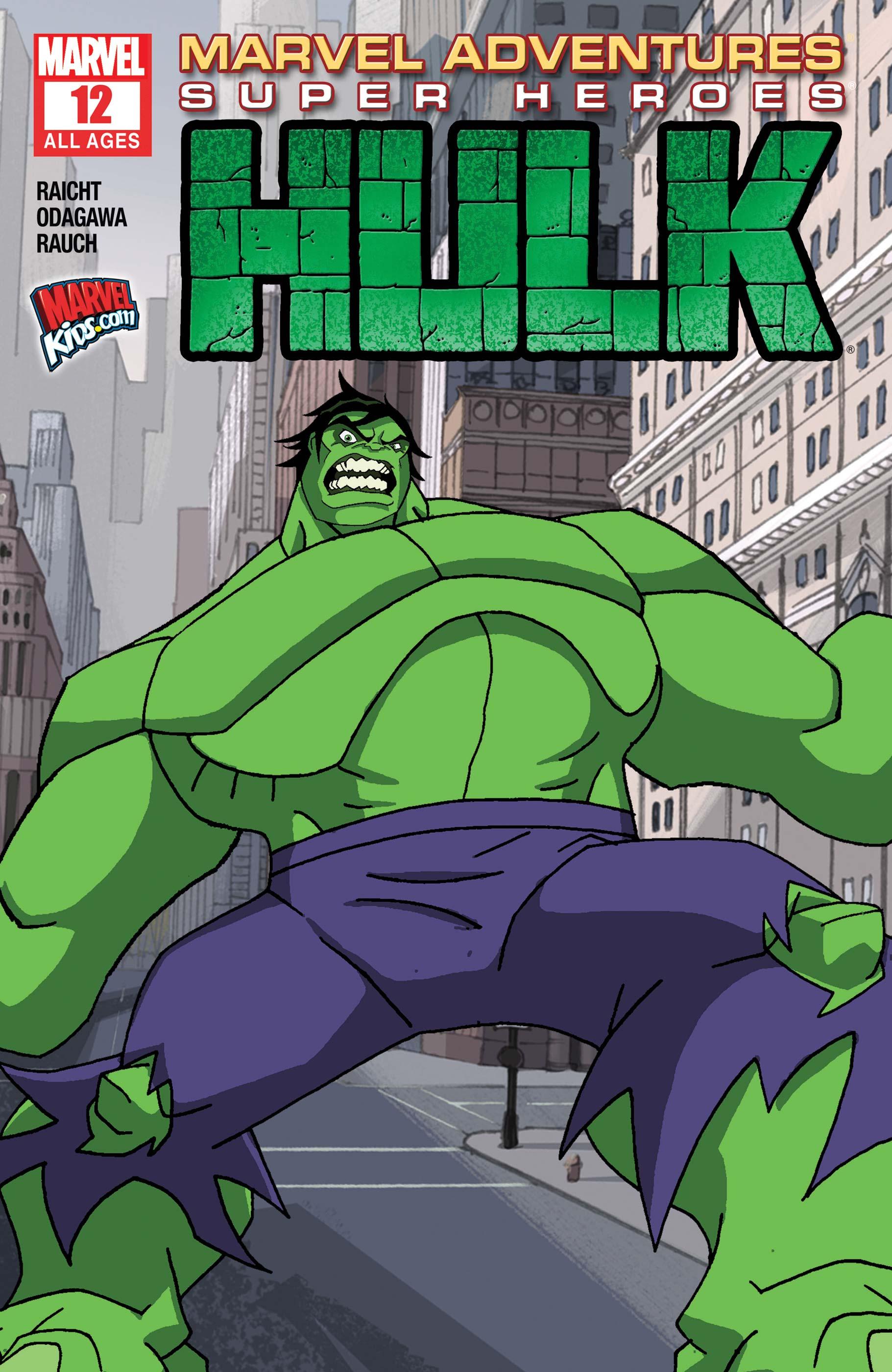 Marvel Adventures Super Heroes (2010) #12