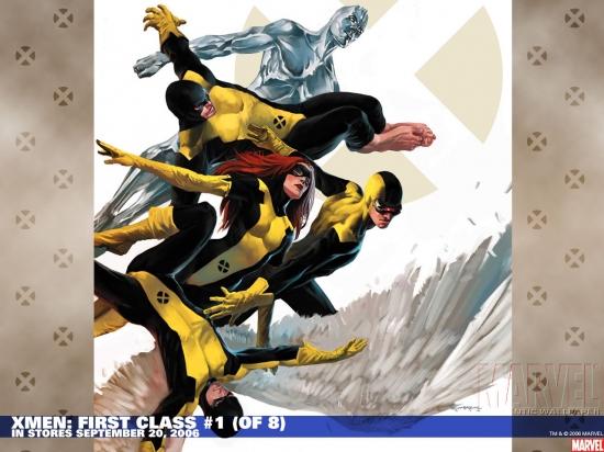 X-Men: First Class (2006) #1 Wallpaper