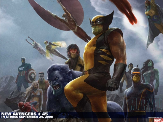 New Avengers (2004) #45 Wallpaper