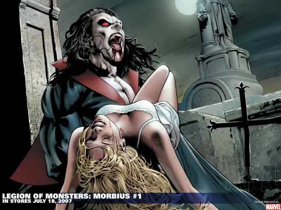 Legion of Monsters: Morbius (2007) #1 Wallpaper