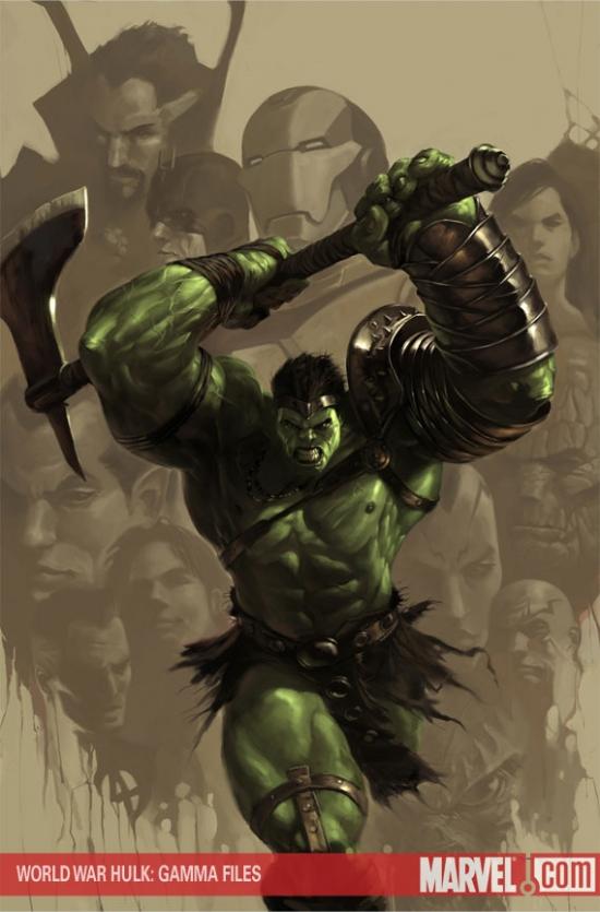 World War Hulk: Gamma Files (2007) #1