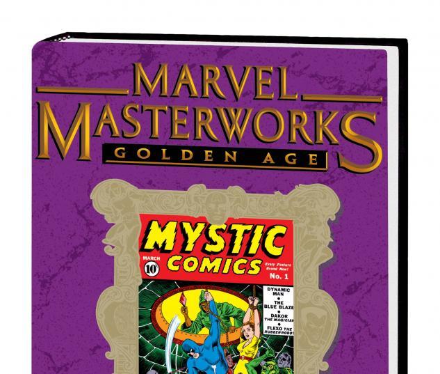 Marvel Masterworks: Golden Age Mystic Comics Vol. 1 Variant