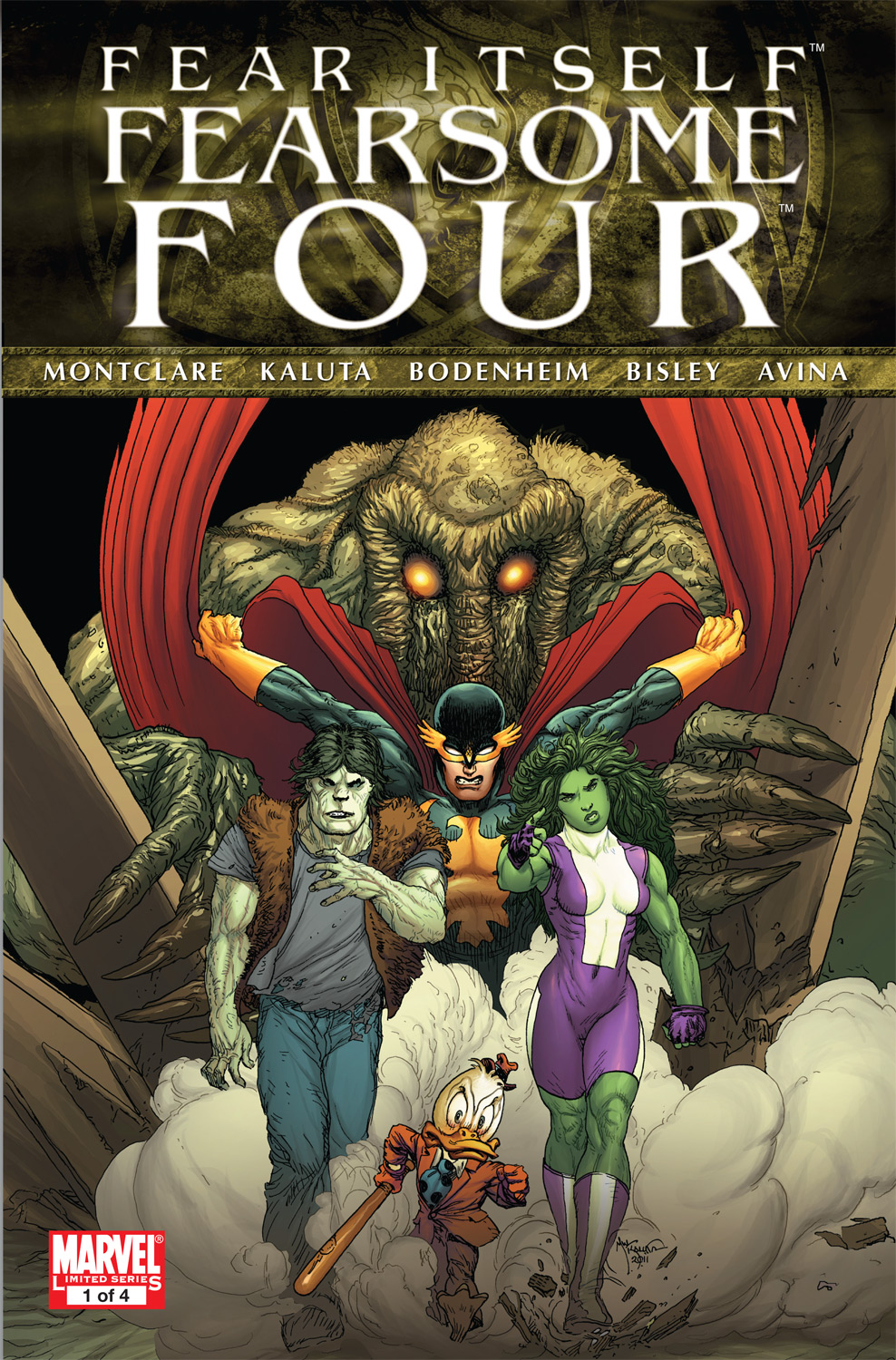 Fear Itself: Fearsome Four (2011) #1