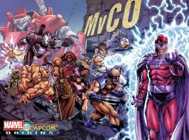 Marvel vs. Capcom Origins tribute art by Mark Brooks