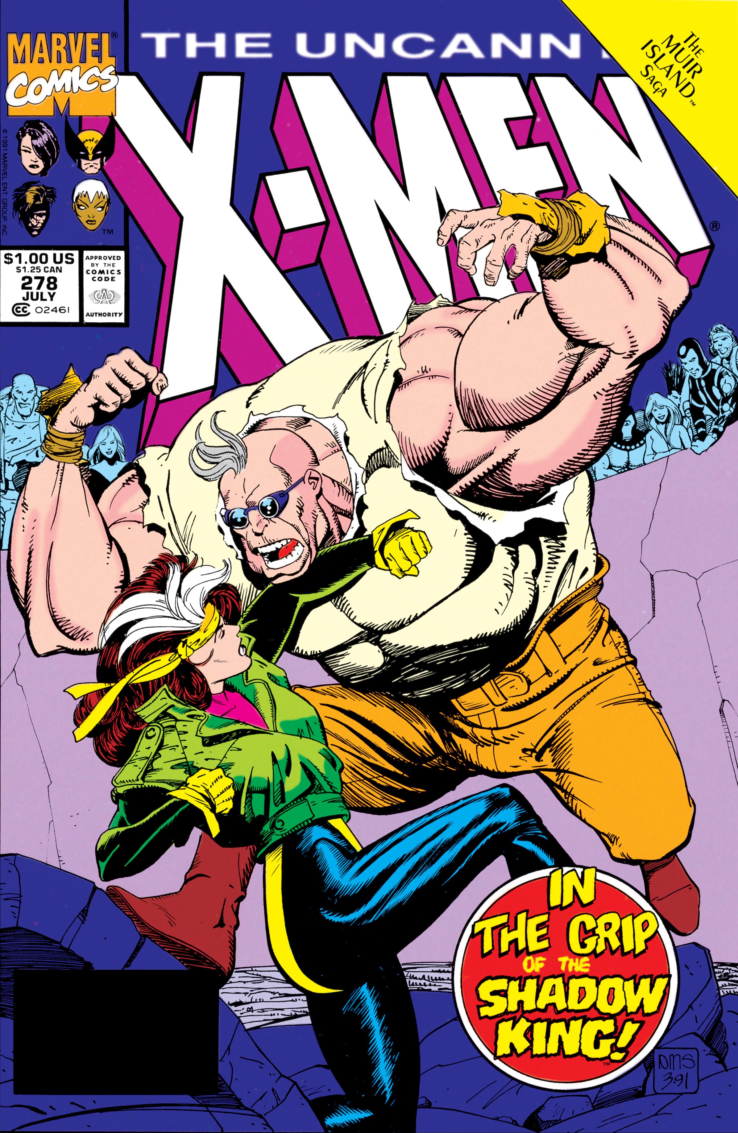 Uncanny X-Men (1963) #278