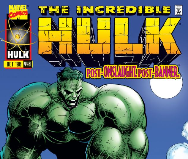 Incredible Hulk (1962) #446 Cover