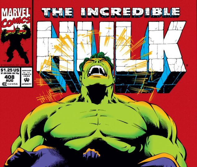 Incredible Hulk (1962) #408 Cover