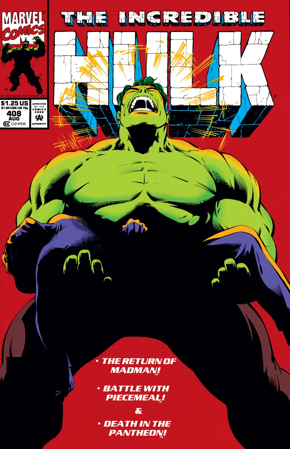 Incredible Hulk (1962) #408
