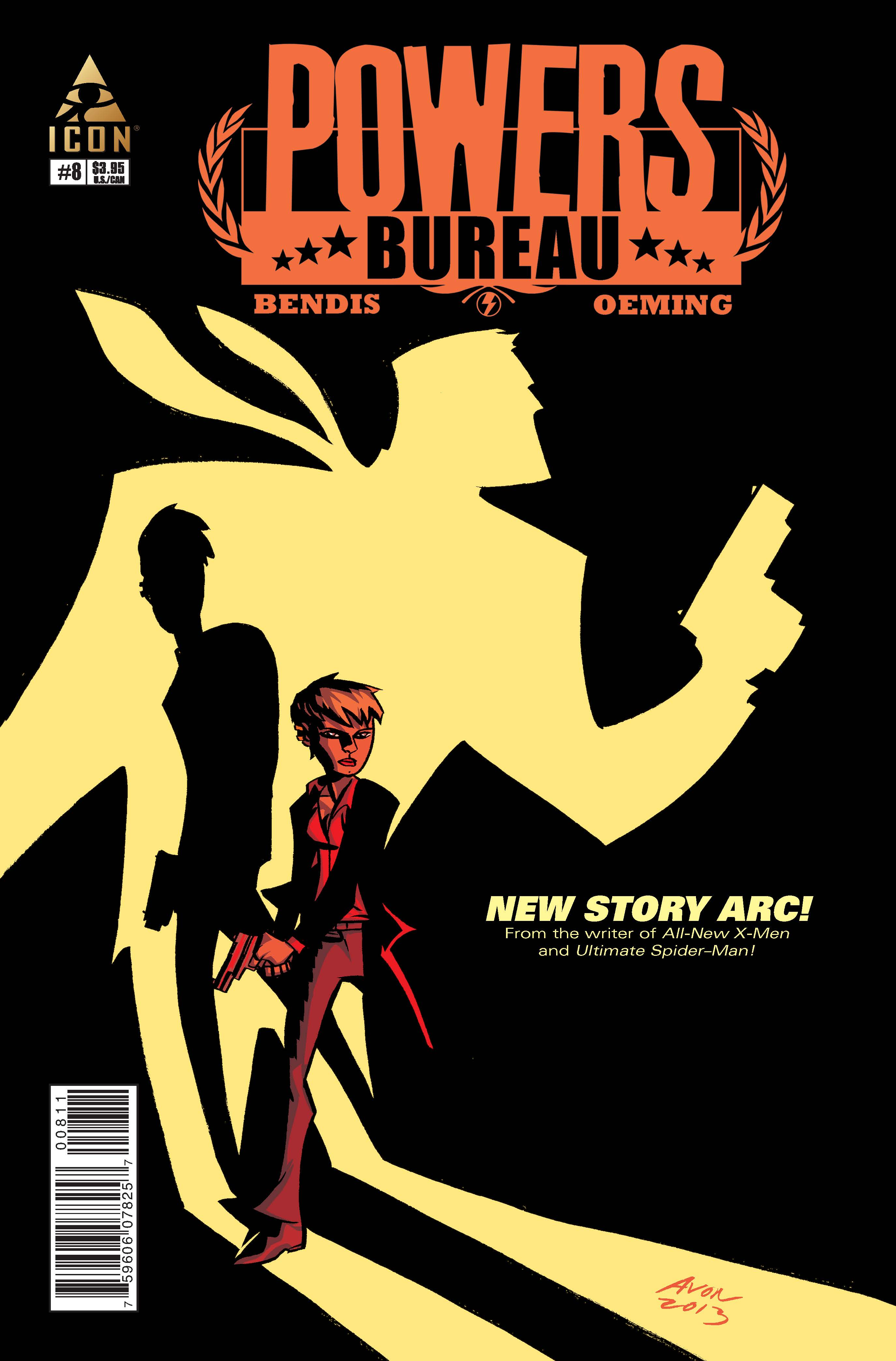 Powers: Bureau (2013) #8