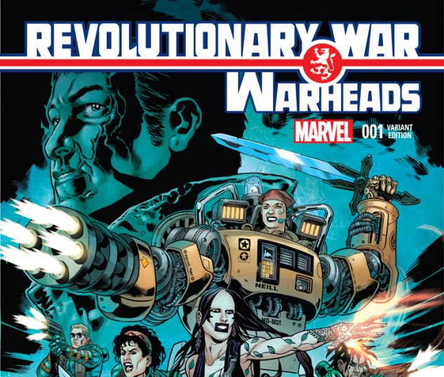 REVOLUTIONARY WAR: WARHEADS 1 ERSKINE VARIANT (WITH DIGITAL CODE)