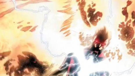 Marvel AR: Dark Cyclops Animation