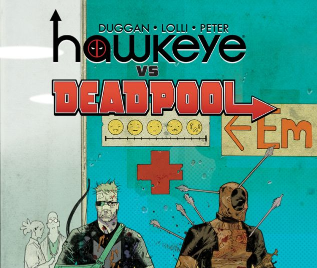 HAWKEYE VS. DEADPOOL 2 (WITH DIGITAL CODE)