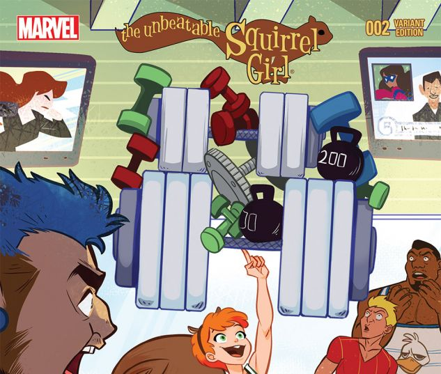 THE UNBEATABLE SQUIRREL GIRL 2 WILLIAMS VARIANT (WITH DIGITAL CODE)